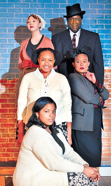 Carpenter Square Theatre's Crumbs From the Table of Joy depicts a family following spiritual - leader Father Divine in the 1950s. - PHOTO PROVIDED
