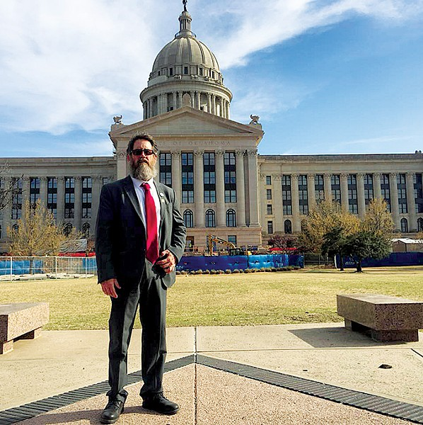 Medical marijuana advocate Chris Moe, known for his Uncle Grumpy YouTube channel, has been vocal about the sentencing reform measures within SQ788. - PHOTO PROVIDED