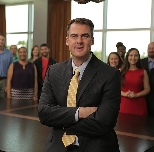 Tulsa businessman Kevin Stitt won the Republican bid for governor in last Tuesday's election. - PROVIDED