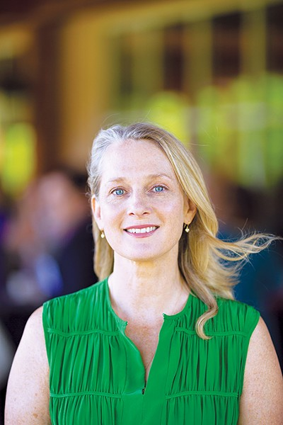 Piper Kerman speaks on issues surrounding incarceration and her book and the Netflix series based on it 7 p.m. Tuesday. - MICHAEL OPPENHEIM / PROVIDED