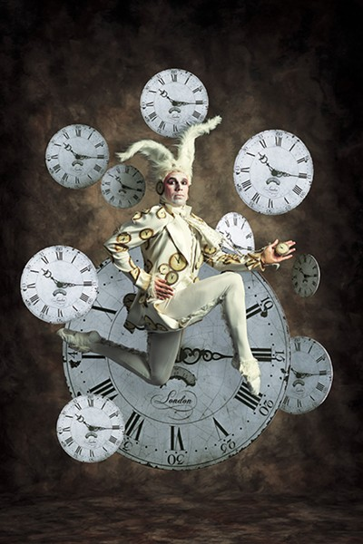 Charles Martin played the White Rabbit in the Kansas City Ballet's production of  Alice (in Wonderland). - KENNY JOHNSON / PROVIDED