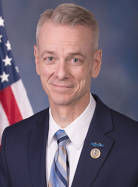 U.S. Rep. Steve Russell, R-Oklahoma City, currently represents Oklahoma's 5th congressional district. - PROVIDED