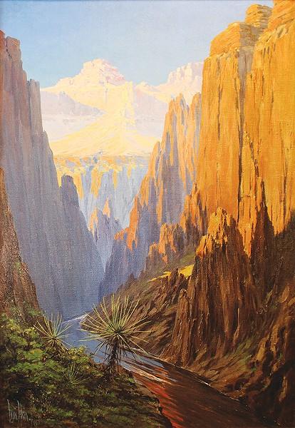 """Colorado River, Grand Canyon"" by Louis Benton Akin - FRED JONES JR. MUSEUM OF ART / PROVIDED"