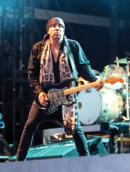 E Street Band guitarist Steven Van Zandt created - a music history curriculum for use in public schools. - JO LOPEZ / PROVIDED