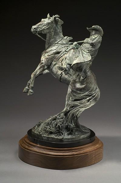 """Strike Lightning II"" by Harold T. Holden - NATIONAL COWBOY & WESTERN HERITAGE MUSEUM / PROVIDED"