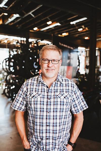 Steve Schlegel's career in bike shops started when he was 12 years old. - ALEXA ACE