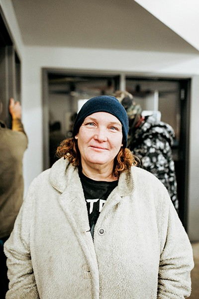 Forty-nine-year-old Linda Debard visits the day shelter at The - Homeless Alliance of Oklahoma City. She is in need of a new winter coat. - ALEXA ACE