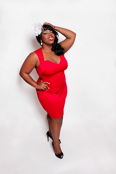 Lady Lola LeStrange is a member of The Jigglewatts Burlesque Revue in Austin, Texas. - PROVIDED