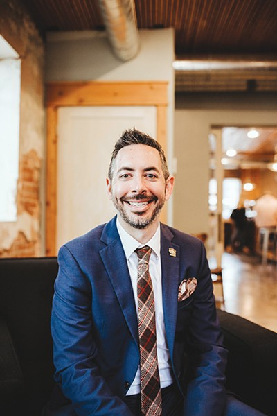 Andy Moore is executive director of Let's Fix This, a nonprofit organization dedicated to educating Oklahomans about government and helping them engage with local politicians. - ALEXA ACE