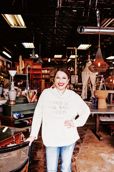 Laura Robinson opened Norman-based vintage store Robinson's Repurposed in 2012. - ALEXA ACE