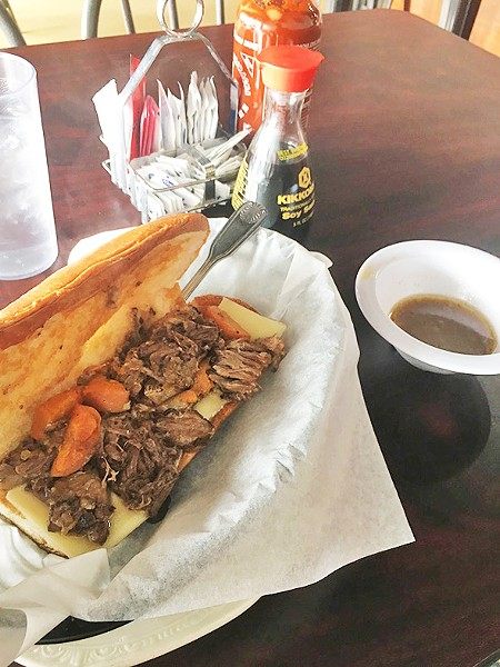 "The ""Italian"" beef sandwich from Alley Café was actually a pot roast sandwich. - JACOB THREADGILL"