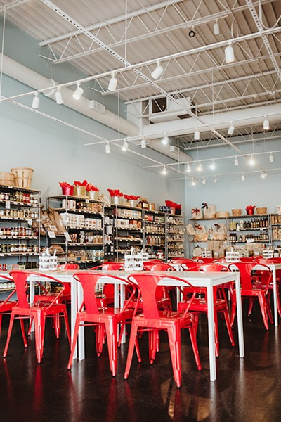 Forward Foods sells a wide selection of cheese, tea, wine and various food products in Norman. - ALEXA ACE