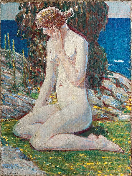 "Childe Hassam's ""The Nude"" is on view at Oklahoma City Museum of Art as part of the exhibit From the Golden Age to the Moving Image: The Changing Face of the Permanent Collection through 2020. - JOSEPH MILLS / PROVIDED"