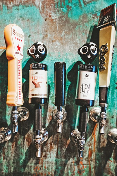 51st Street Speakeasy recently added Anthem Brewing Company beers on tap. - ALEXA ACE