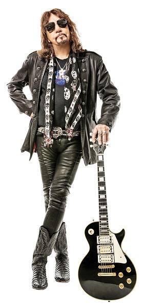 Ace Frehley plays Rocklahoma on Sunday. - JAY GILBERT / PROVIDED