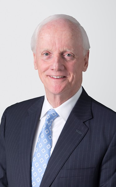 In an opinion piece he co-wrote for The Oklahoman, former Oklahoma Gov. Frank Keating claimed that the state's education funding had increased by $2 billion over the past 10 years. - HOLLAND & KNIGHT / PROVIDED