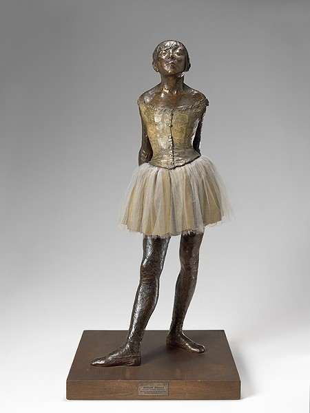 """The Little Dancer Aged Fourteen"" by Edgar Degas - TRAVIS FULLERTON / VIRGINIA MUSEUM OF   FINE ARTS / PROVIDED"