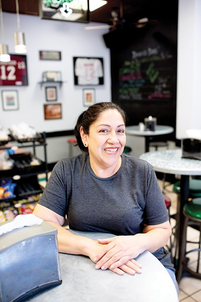 Alicia Gomez-Grayson is the owner of Cafe 110. - ALEXA ACE