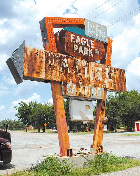 Abandoned theme parks remain a popular attraction for explorers. - JOHNNY FLETCHER / ABANDONED OKLAHOMA / PROVIDED