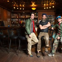 Greg Bustamante, Henri Bailey, and Michael Bustamante, new owners of the 51st St. Speakeasy, Monday, Feb. 22, 2016.