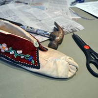 Class celebrates Native footwear by reproducing it