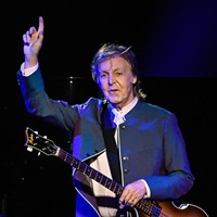 Paul McCartney performs at the Chesapeake Energy Arena, Monday, July 17, 2017.