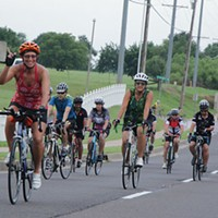 An annual Norman bike ride raises money for children with developmental disabilities
