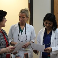 "Interprofessional training and ""speed dating"" program help medical students learn about peers' fields"