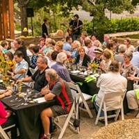 Myriad Gardens' Dining Series gets fresh with Summer Vegetarian Dinner by chef Ryan Parrott.