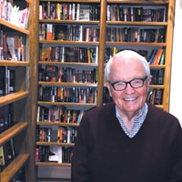 Jim Tolbert founded Full Circle Bookstore in 1977.   Photo Jacob Threadgill