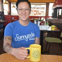 Aly Cunningham owns Sunnyside Diner locations with Shannon Roper.