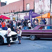 A classic car show is one of the reoccurring features of Fiesta Friday.