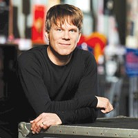 Oklahoma City Philharmonic music director Alexander Mickelthwate.