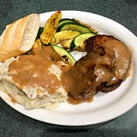 Metro Diner's meatloaf was featured in a 2010 appearance of Diners, Drive-Ins and Dives.