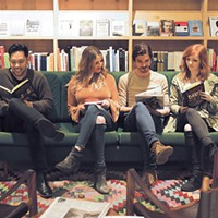 Jose Hernandez, Chelsey Cope, Chase Kerby and Kinsey Charles perform at a book drive at Commonplace Books 6 p.m. Saturday.