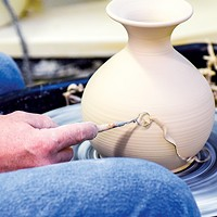 The annual ceramics sale at Oklahoma Contemporary, 3000 General Pershing Blvd., offers shoppers the chance to buy   items created by students and instructors in the arts center's education program.