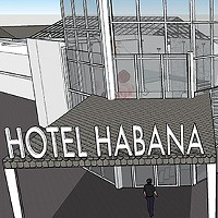 Early Hotel Habana renderings show a completely redone facade and lobby.