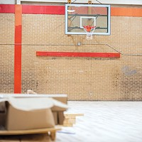 The district is about 96 percent complete with transitional work, but athletic fields and facilities still need work.