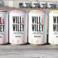 Will & Wiley is available in individual flavor six-packs or variety 12-packs. The four flavors at launch are mango guava, pineapple, grapefruit and cherry.