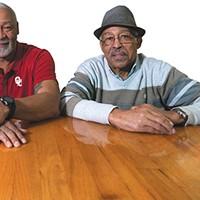 Mario Long, Carl Kemp Jr. and Carl Kemp Sr. are three generations involved with Elmer's Uptown.