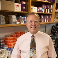 Oklahoma Medical Research Foundation physician-scientist Hal Scofield, M.D.