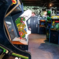 Up-Down has a central warehouse and rotates games throughout its five locations.