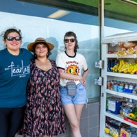 Members of the Resonator art collective in Norman have faced backlash with some residents over their free food pantry