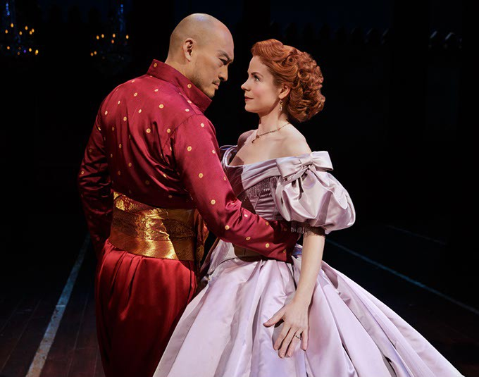 The King and I - Kelli O'Hara and Ken Watanabe - Bartlett Sher: Director - Credit Photo: Paul Kolnik - studio@paulkolnik.com - nyc 212-362-7778 - PAUL KOLNIK