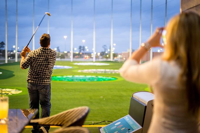 TopGolf is building a new 65,000-square-foot flagship location near Quail Springs Mall. - PROVIDED