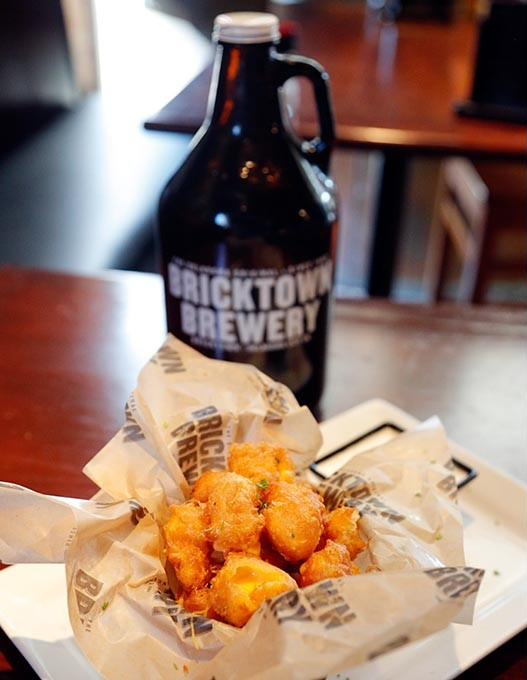 Fried cheese at Bricktown Brewery in Oklahoma City, Wednesday, Sept. 2, 2015. - GARETT FISBECK