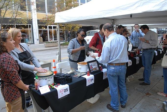 VI Chili Cookoff in downtown OKC, 11-2-12.  File - MARK HANCOCK