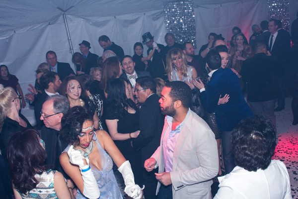 Guests dance at the inaugural Glitter Ball in January. - AARON GILILLAND / PROVIDED