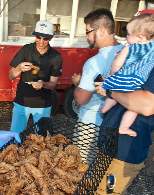 Bobo's Chicken is good for all ages, races, and appetites.  mh