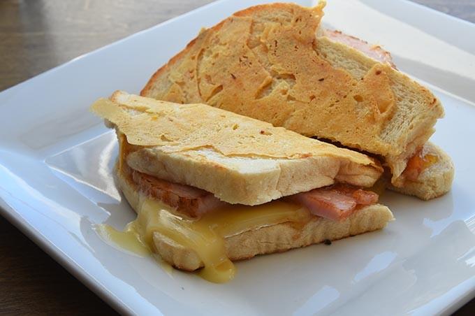 C'est La Brie sandwich at Elemental Coffee.  mh
